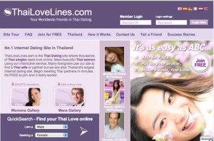 Thai kontakt via Love Lines thaidating